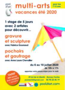 Multi arts, stage enfants de 7 à 13 ans