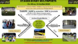Stage rugby multisports