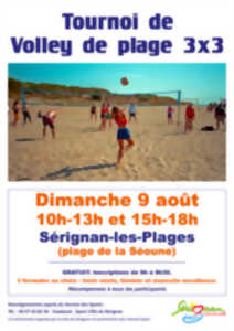 TOURNOI DE BEACH VOLLEY