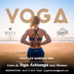 Yoga Ashtanga face à l'océan