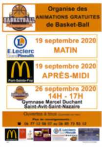 Animations gratuites Basketball
