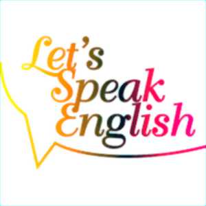 Let's speak english!