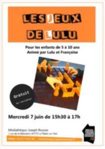Loire Atlantique Manifestation Culturelle Les Jeux De Lulu Et