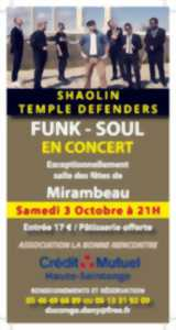 CONCERT SHAOLIN TEMPLE DEFENDERS