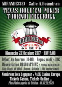 TEXAS HOLD'EM POKER TOURNOIS FREE ROLL