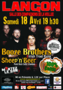 Concert 100% Celtic - Booze Brothers + Sheep'n'Beer