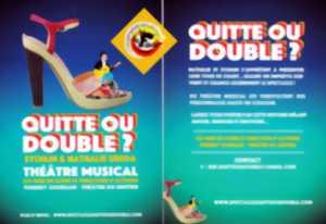 """Résultat de recherche d'images pour """"Quitte ou double theatre musical a tyrosse"""""""