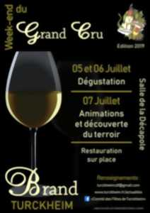 Week-end du grand cru brand