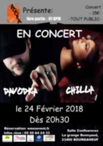 Concert de Hip-Hop - Chilla + Davodka