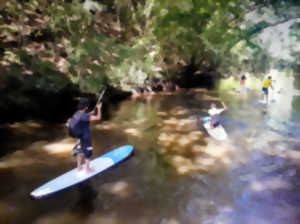 Promenade en stand up paddle