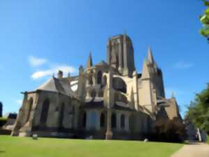 English guided tour of the high parts of the cathedral