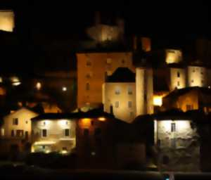 Visit on Lanterns' Lights of the Medieval City of Puy-l'Evêque