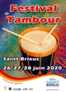 ANNULÉ - Festival International du Tambour de Saint-Brieuc