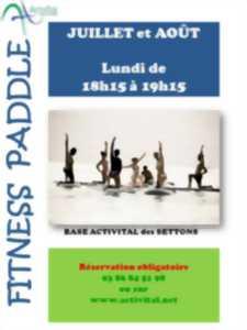 Lac des Settons : Fitness Paddle