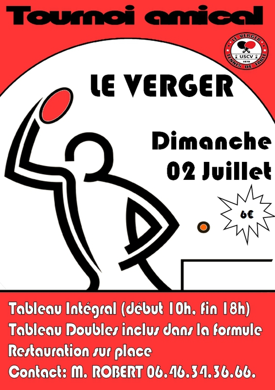 Ille et vilaine competition sportive tournoi int gral - Comite d ille et vilaine de tennis de table ...