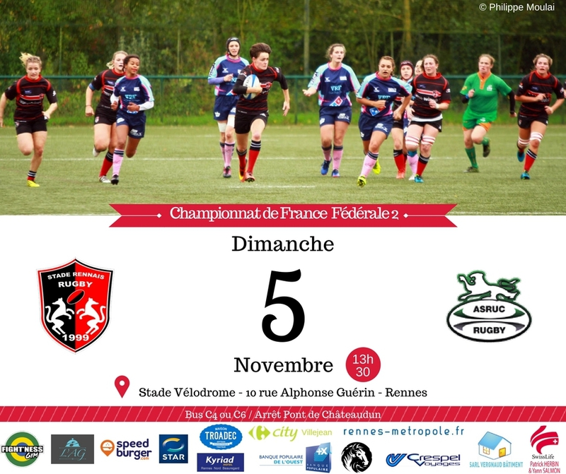 Ille et vilaine competition sportive rugby f minin for Appart city rouen