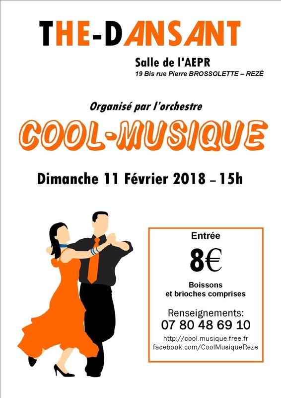 Loire atlantique danse bal cabaret apr s midi for Danse de salon nantes